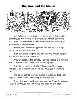 photo relating to The Lion and the Mouse Story Printable identified as The Lion And The Mouse Tale Sequencing Worksheets