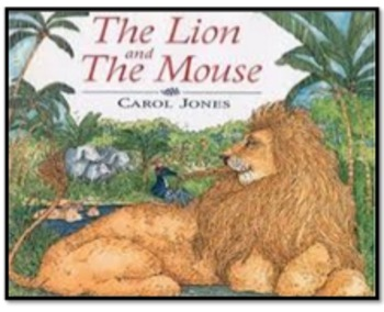 The Lion and the Mouse Amazing Words PPT