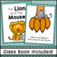 The Lion and the Mouse Fable Emergent Reader