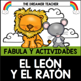 Spanish The Lion and the Mouse Fable