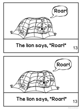 The Lion and the Mouse Fable Reader ~Simplified for Young Learners