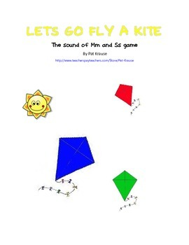 Beginning sounds M and S - LET'S GO FLY A KITE!