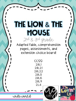 The Lion and the Mouse Mini Unit