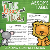 The Lion and the Mouse Reading Comprehension Activity Book