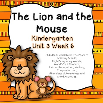 Lion And The Mouse Activities & Worksheets | Teachers Pay