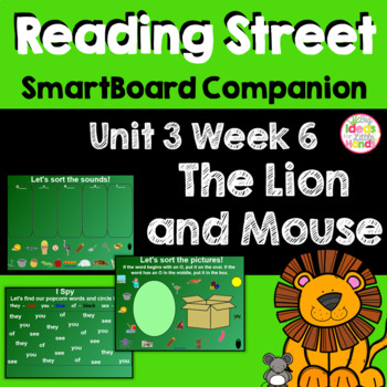The Lion and the Mouse SmartBoard Companion Kindergarten