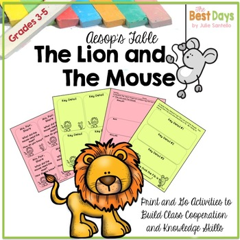 The Lion and the Mouse:  A SMART Way to START Your Year!