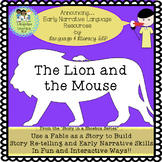 Lion & the Mouse: Use a Fable to Build Story Re-telling!