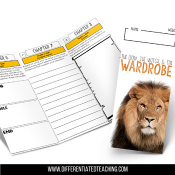 The Lion, the Witch, and the Wardrobe Foldable Novel Study Unit