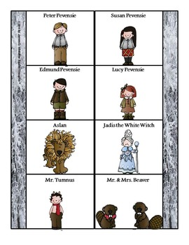 The Lion, the Witch, and the Wardrobe Interactive Notebook Freebie