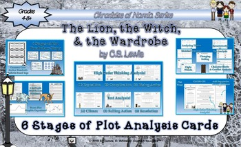 The Lion, the Witch, and the Wardrobe 6 Stages of Plot Analysis Activity