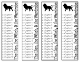 The Lion, the Witch, and the Wardrobe Chapter Checklist Bookmarks