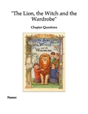 """""""The Lion, the Witch and the Wardrobe"""" Chapter and Compreh"""
