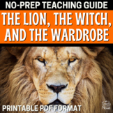Lion, the Witch, and the Wardrobe Teacher Guide - Activities, Questions, Tests
