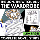 Lion, the Witch, and the Wardrobe Novel Study Unit with Questions and Activities