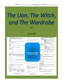 The Lion, the Witch, and the Wardrobe Complete Literature Unit
