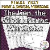 The Lion, the Witch and the Wardrobe Final Test