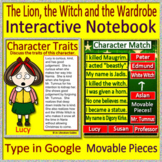 The Lion, the Witch and the Wardrobe Interactive Notebook for Google Drive