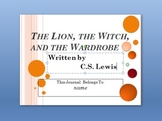 The Lion, the Witch, and the Wardrobe Interactive PowerPoint Student Journal