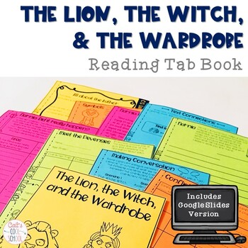 Narnia: The Lion, the Witch, and the Wardrobe Novel Study Tab Book