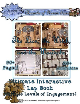 The Lion, the Witch, and the Wardrobe Narnia Interactive Activity Bundle