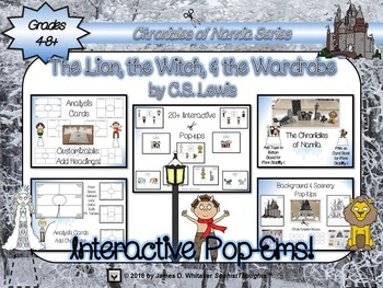 The Lion, the Witch, and the Wardrobe Narnia Interactive Pop-Ems Pop-Ups