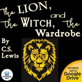The Lion, the Witch, and the Wardrobe Novel Study Book Unit