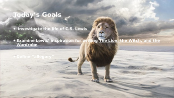 The Lion, the Witch, and the Wardrobe: Pre-reading Powerpoint