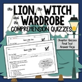The Lion, the Witch, and the Wardrobe Comprehension Test a