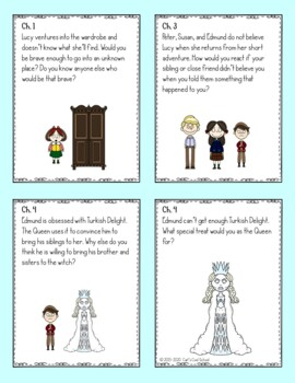 Narnia: The Lion, the Witch, and the Wardrobe Novel Study Activities