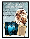 Lion, the Witch and the Wardrobe  Short Answer Questions