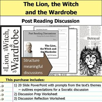 The Lion, the Witch and the Wardrobe - Socratic Method - D