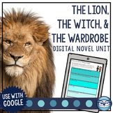 The Lion, the Witch and the Wardrobe Novel Study - Print and Digital Activities