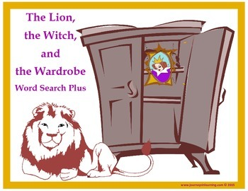 The Lion, the Witch and the Wardrobe Word Search Plus