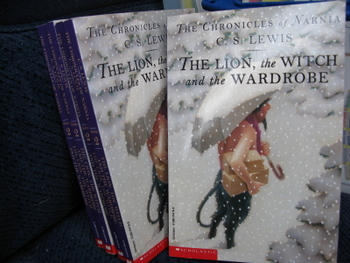 The Lion, the Witch, and the Wardrobe by C.S. Lewis (Set of 5)