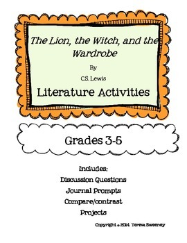 The Lion, the Witch, and the Wardrobe Lit Packet