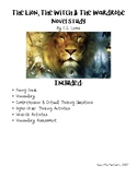 The Lion, the Witch & the Wardrobe Novel Study