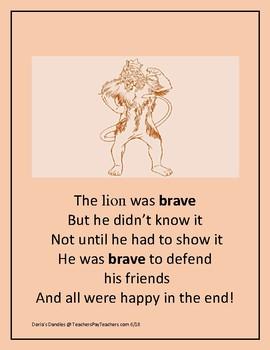 The Lion was Brave Rhythm