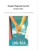 The Lions of Little Rock by Kristin Levine Student Response Journal