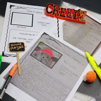 """Halloween Activities for Teens, Poetry Lesson """"The Listeners"""""""