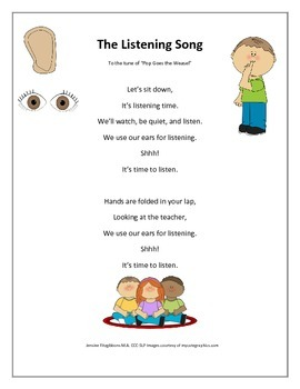 The Listening Song
