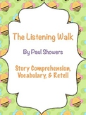 The Listening Walk - Sounds Theme - Story Comprehension, Vocabulary, & Retell