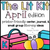 The Lit Kit April Kindergarten