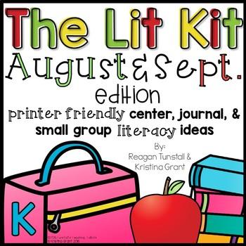 The Lit Kit August & September Kindergarten