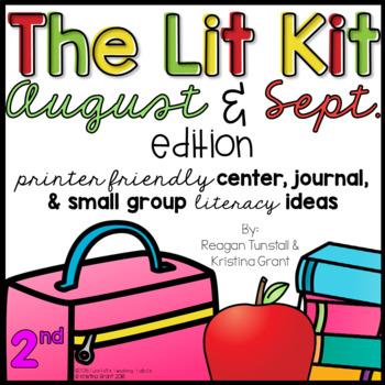 The Lit Kit August September Second Grade