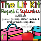 The Lit Kit August and September First Grade