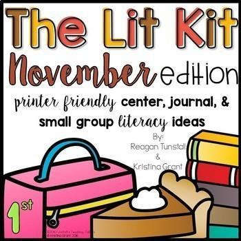 The Lit Kit Bundle First Grade