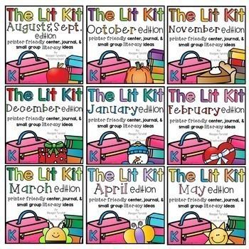 The Lit Kit Bundle Kindergarten