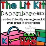 The Lit Kit December Kindergarten