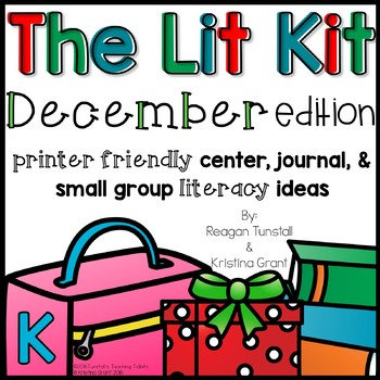 The Lit Kit December Kindergarten